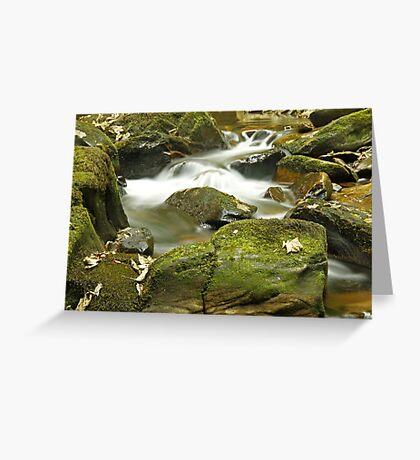 Water Flow at Torc  Greeting Card