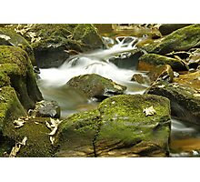 Water Flow at Torc  Photographic Print
