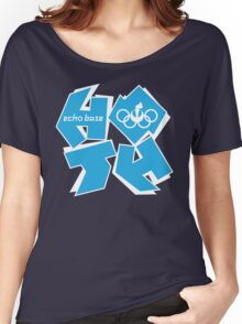 ECHO BASE OLYMPICS Women's Relaxed Fit T-Shirt