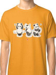 Panda Food Dance Classic T-Shirt
