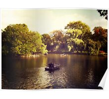 Central Park Boats - New York City Poster