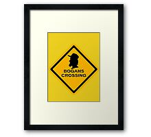 Bogans crossing Framed Print