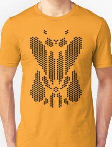 Hexgrid Rorschach (Black) Unisex T-Shirt