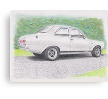 Ford Escort Mk1 by Glens Graphix Canvas Print