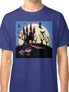 Haunted Halloween Castle 2 Classic T-Shirt