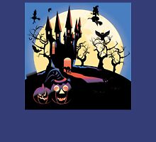 Haunted Halloween Castle 2 Unisex T-Shirt