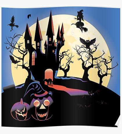 Haunted Halloween Castle 2 Poster