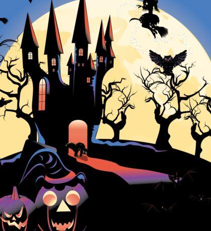 Haunted Halloween Castle 2 Sticker