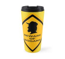 Beware - Bogans (diamond) Travel Mug