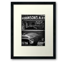 Robinson's Ales Framed Print