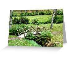 The bridge between you and me Greeting Card
