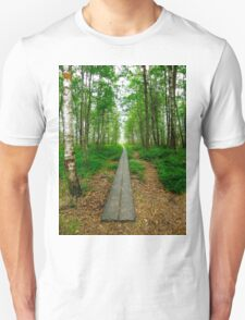 The beggining of a journey Unisex T-Shirt