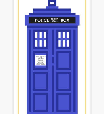 It's a TARDIS! Sticker