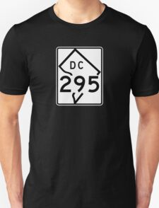 Route 295, District of Columbia, USA Unisex T-Shirt