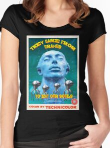 They Came From Uranus Women's Fitted Scoop T-Shirt