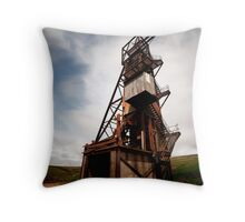 Rookhope, abandoned mine Throw Pillow