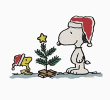 snoopy christmas by jlithenx