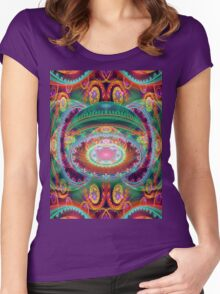 Cora's Bazzar Women's Fitted Scoop T-Shirt