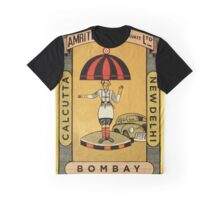Vintage Indian Cigar Box Graphic T-Shirt