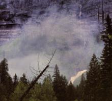 Avalanche Creek, Glacier N.P., Montana Sticker