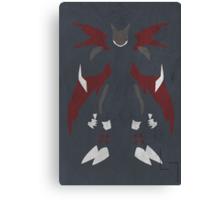 Cyberdramon Canvas Print