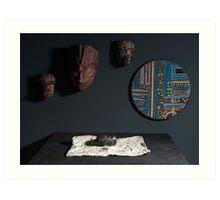 Another World (Dark Tones Study) - Studio Lighting Class/Photography Art Print