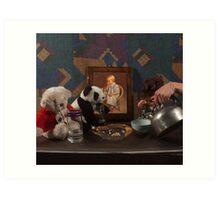 Tea Party (Glass & Metal Study) - Studio Lighting Class/Photography Art Print