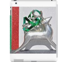 Christmas:  Holiday Stripes and a Reindeer iPad Case/Skin