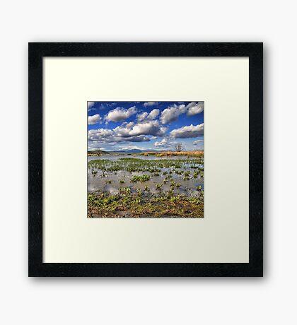Lake Heimaditis, Eordaia, GREECE Framed Print