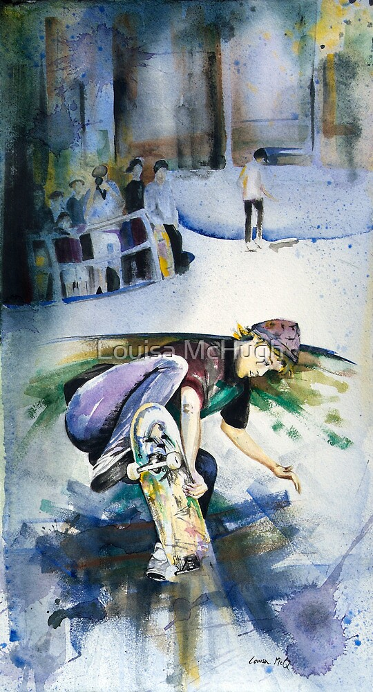 Venice Skater by Louisa McQ
