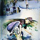 Venice Skater by Louisa McHugh
