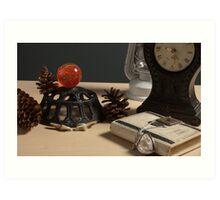 Quartz Diary (Metal & Glass Lighting) - Studio Lighting Class/Photography Art Print