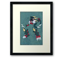 Gregar Beast Out Framed Print