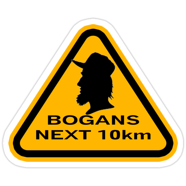 Bogans next 10km (triangle) by Diabolical