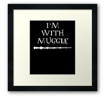 im with muggle Framed Print