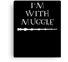 im with muggle Canvas Print