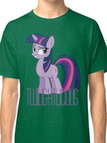 Twilight Sparkle is oh so Twilightlicious Classic T-Shirt