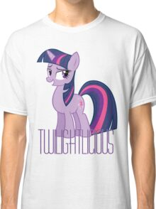 Twilight Sparkle is oh so Twilightlicious Classic T-Shirt