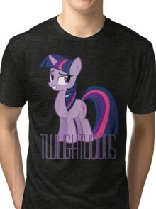 Twilight Sparkle is oh so Twilightlicious Tri-blend T-Shirt