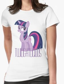 Twilight Sparkle is oh so Twilightlicious Womens Fitted T-Shirt