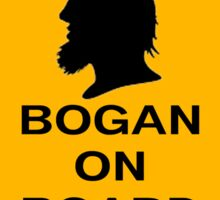 Bogans on board (diamond) Sticker