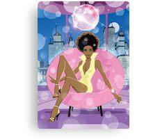 Disco Girl  Sexy cool  Canvas Print