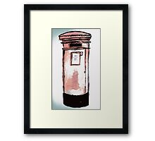 Postbox Framed Print