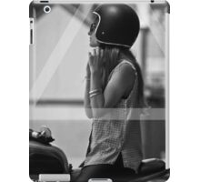 OVERFIFTEEN SAFETY FIRST ( MOTORCYCLE ) iPad Case/Skin