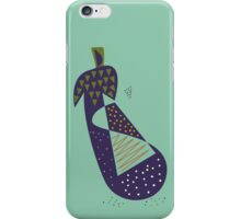 Eggplant iPhone Case/Skin