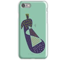 Eggplant iPhone Case/Skin