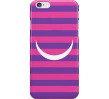 Minimalist Alice in Wonderland Cheshire cat iPhone and iTouch case iPhone Case/Skin