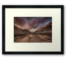Dead Space Framed Print