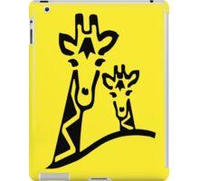 Giraffe T-shirt iPad Case/Skin