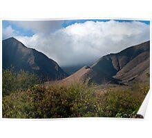 Hawaiian Mountains Poster